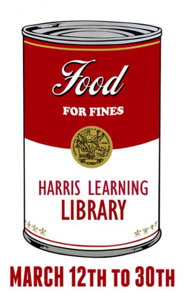 Food for Fines - March 12 - 30